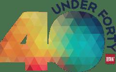 Forty under 40 logo